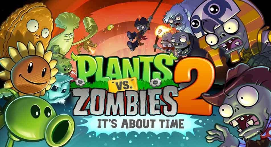 Взломанный Plants vs Zombies 2