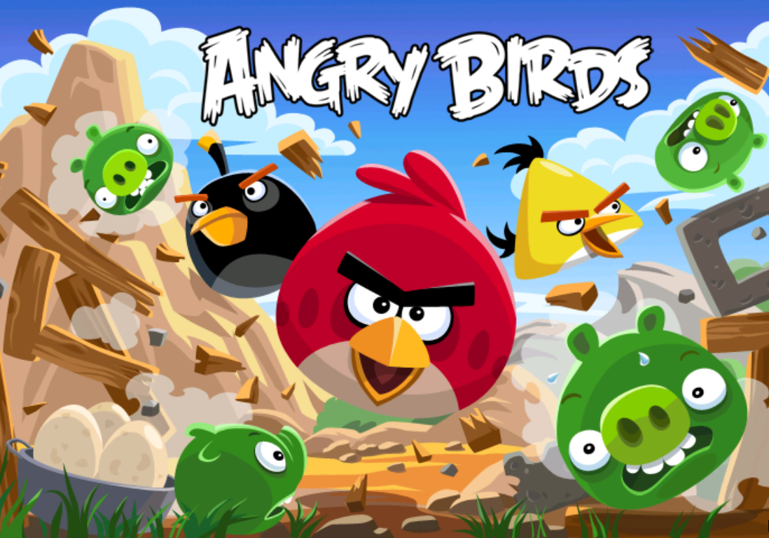 Взломанный Angry Birds на Андроид
