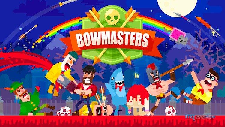Взломанный Bowmasters