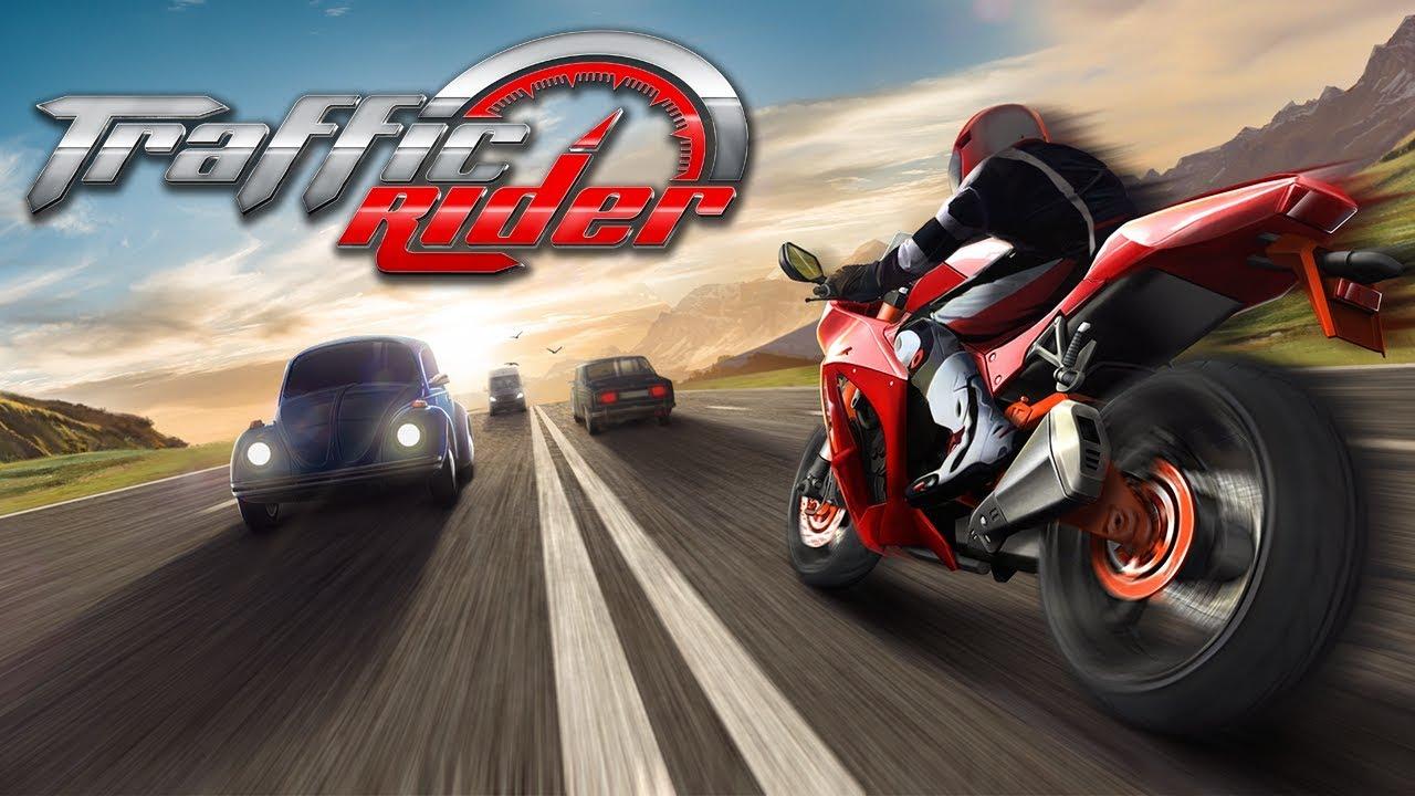 Взломанный Traffic Rider