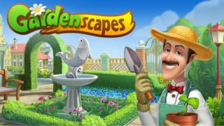 Взломанный Gardenscapes на Андроид