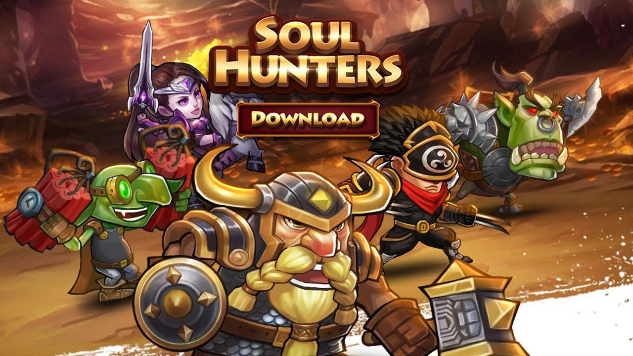 Взломанный Soul Hunters на Андроид