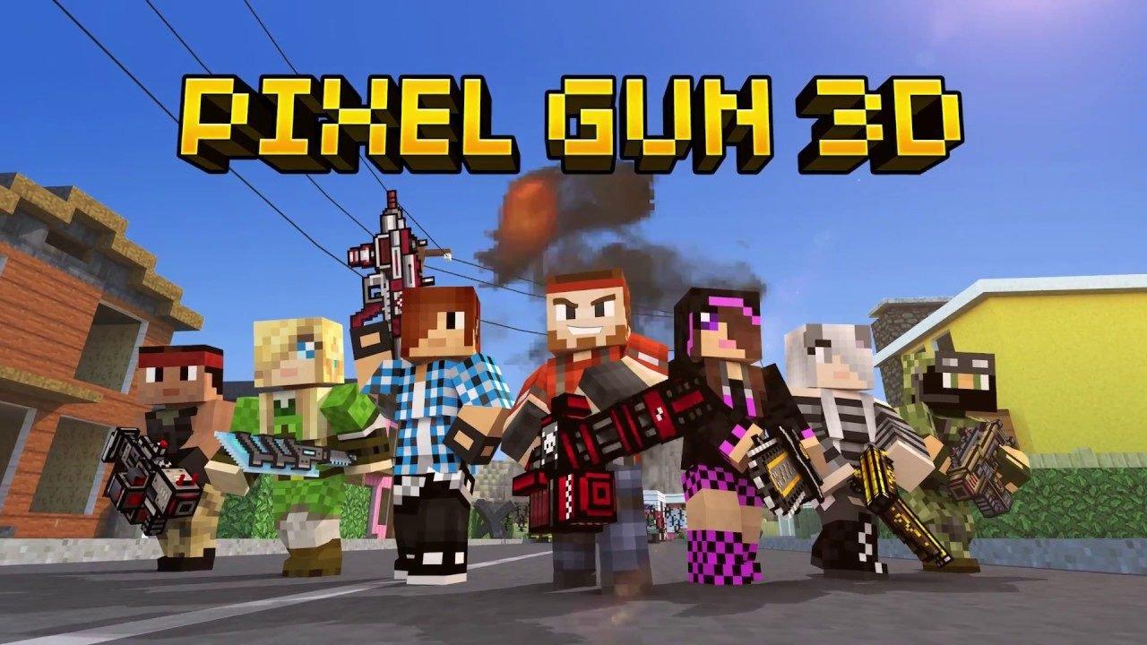 Взломанный Pixel Gun 3D на Андроид