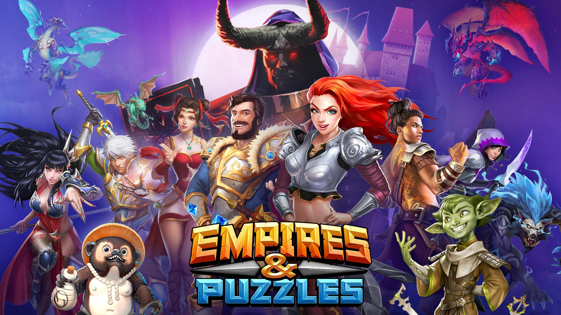 Взломанная Empires Puzzles на Андроид