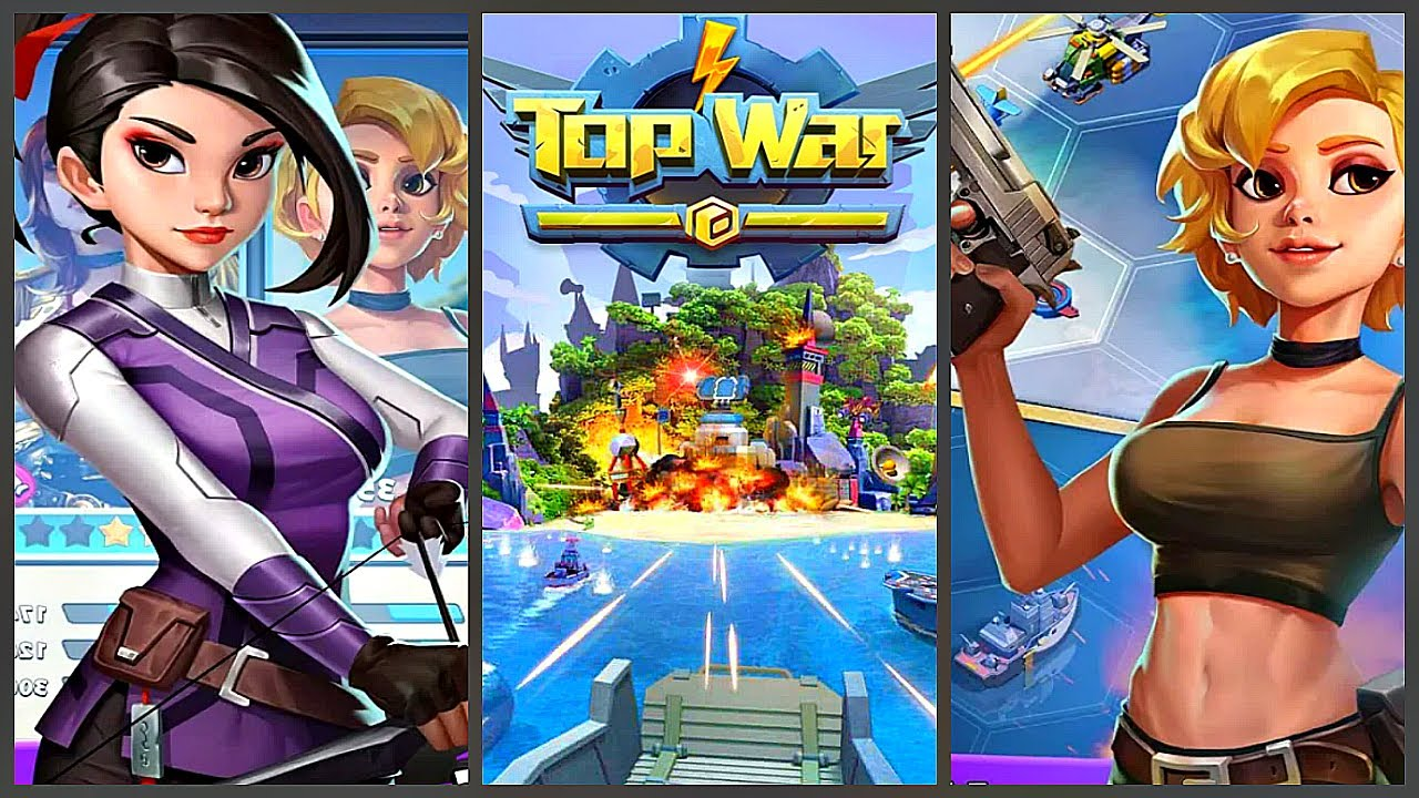 Взломанная TopWar Игра Битвы на Андроид
