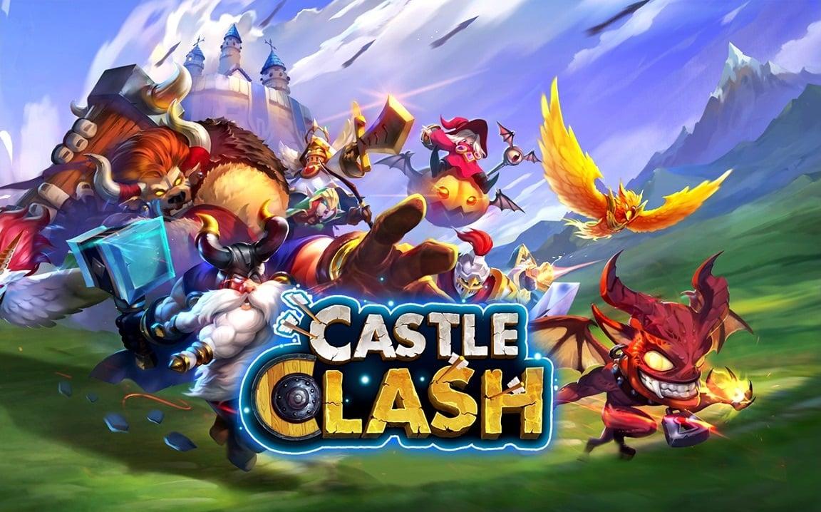 Взломанный Castle Clash Схватка Гильдий на Андроид