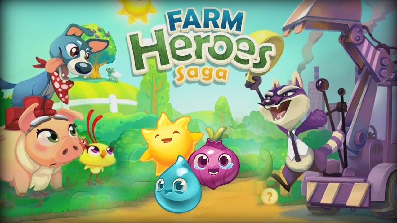 Взломанная Farm Heroes Saga на Андроид