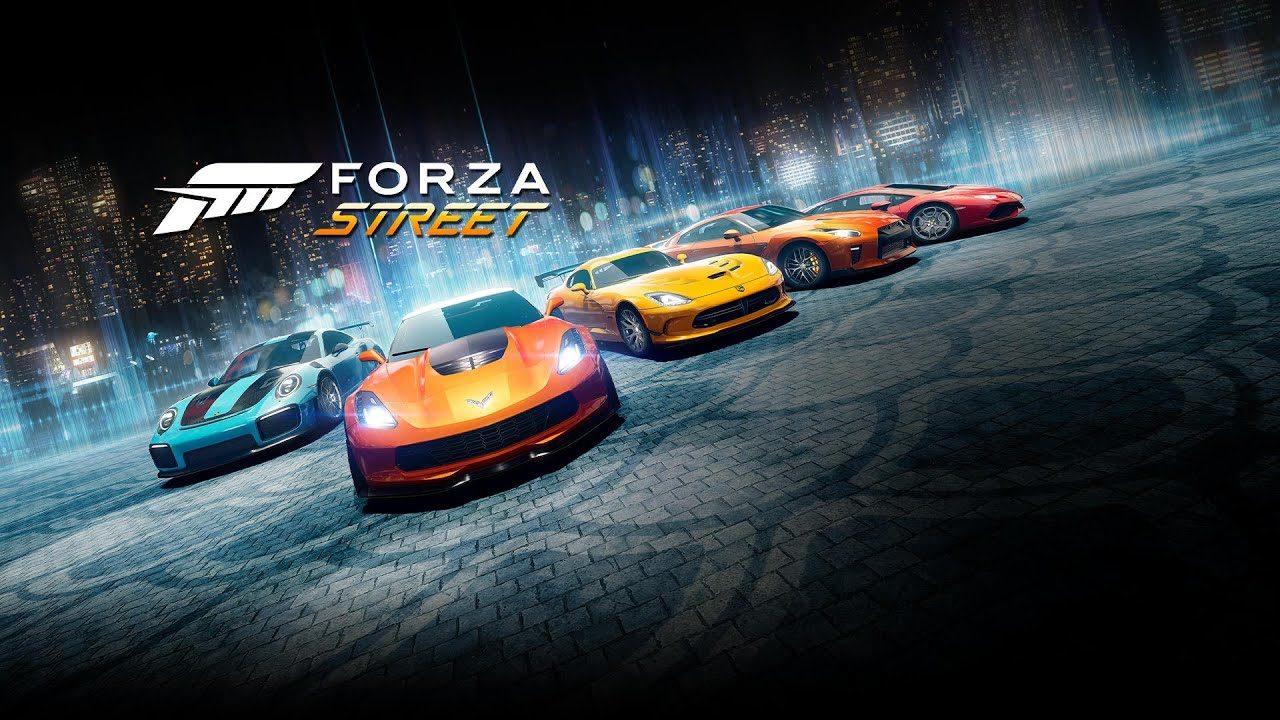 Взломанная Forza Street [мод много денег] на Андроид