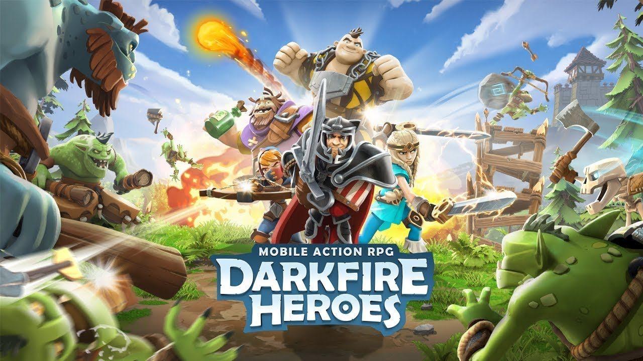 Взломанный Darkfire Heroes на Андроид