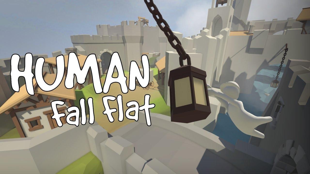 Взломанный Human Fall Flat на Андроид