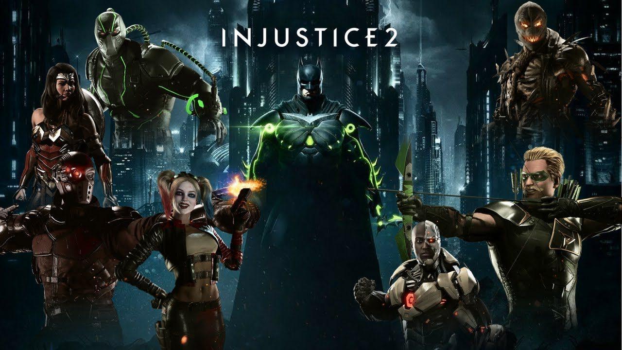 Взломанный Injustice 2 на Андроид