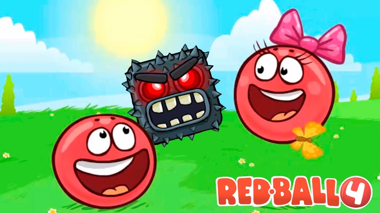 Взломанный Red Ball 4 на Андроид
