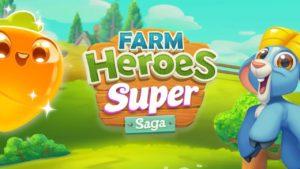 Взломанная Farm Heroes Super Saga [мод много денег] на Андроид