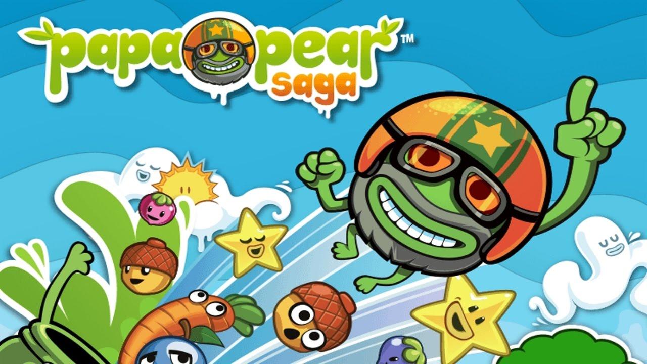 Взломанная Papa Pear Saga [мод много денег] на Андроид