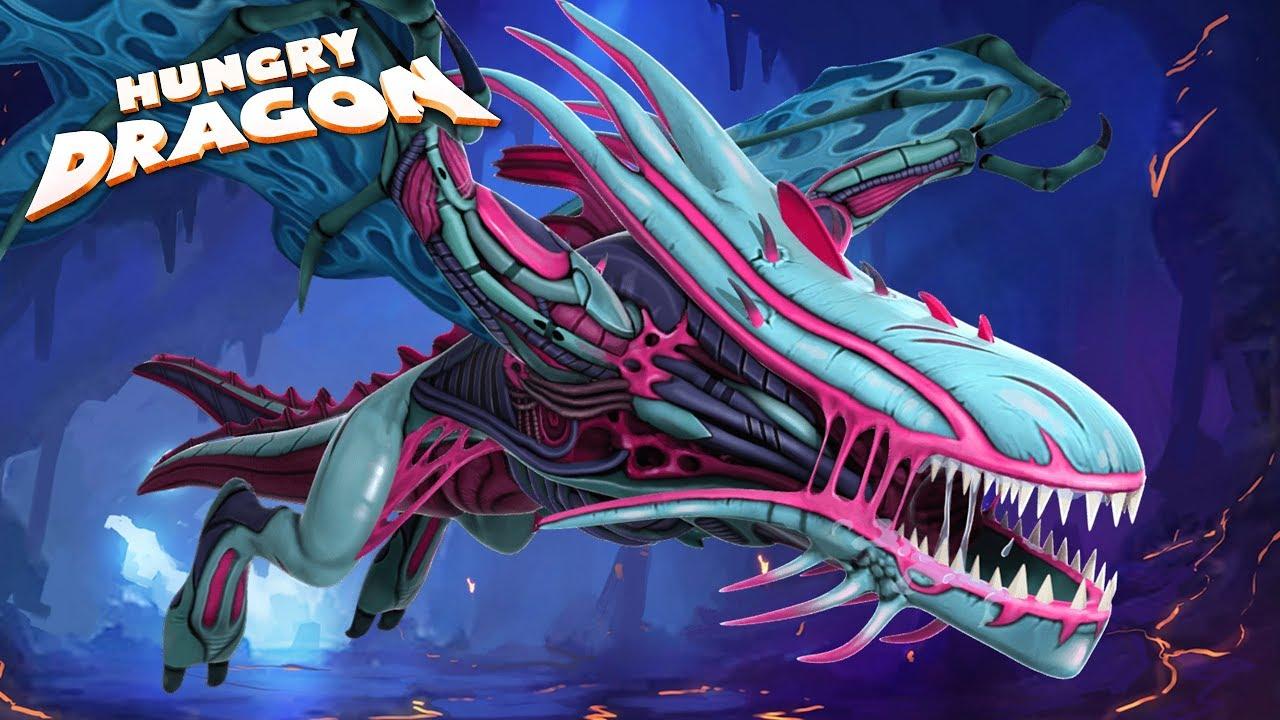 Взломанная Hungry Dragon [мод много денег] на Андроид