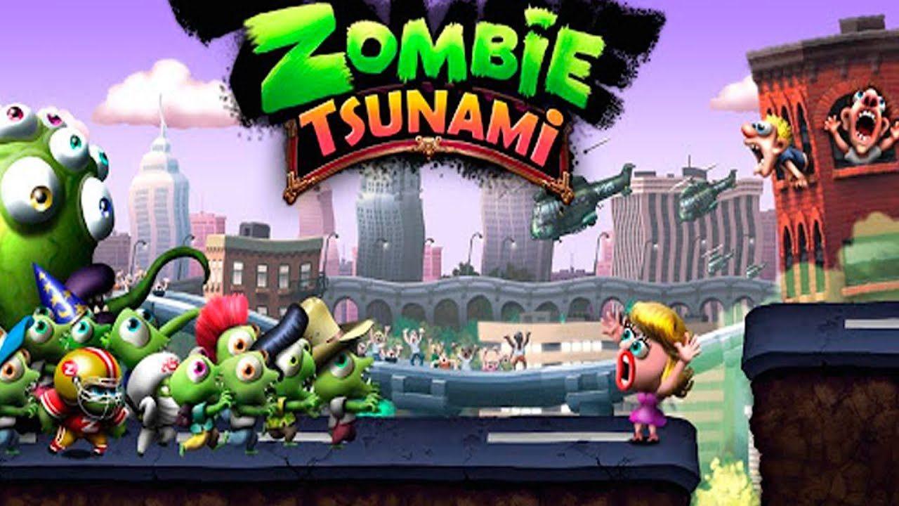 Взломанная Zombie Tsunami [мод много денег] на Андроид