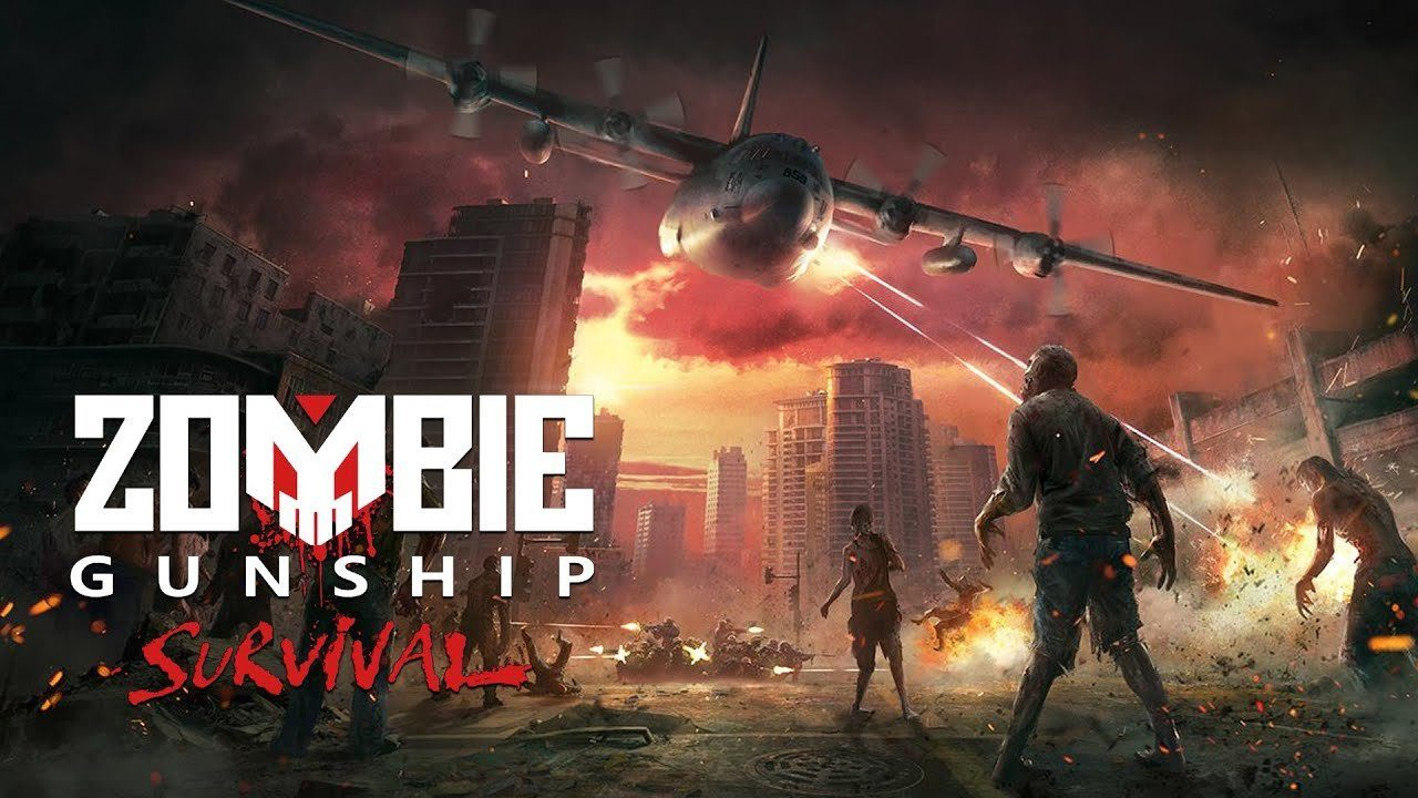 Взломанный Zombie Gunship Survival [мод много денег] на Андроид